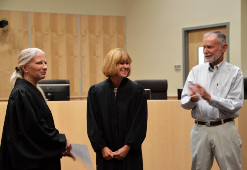 Los Alamos County Probate Judge Christine Chandler Sworn ...