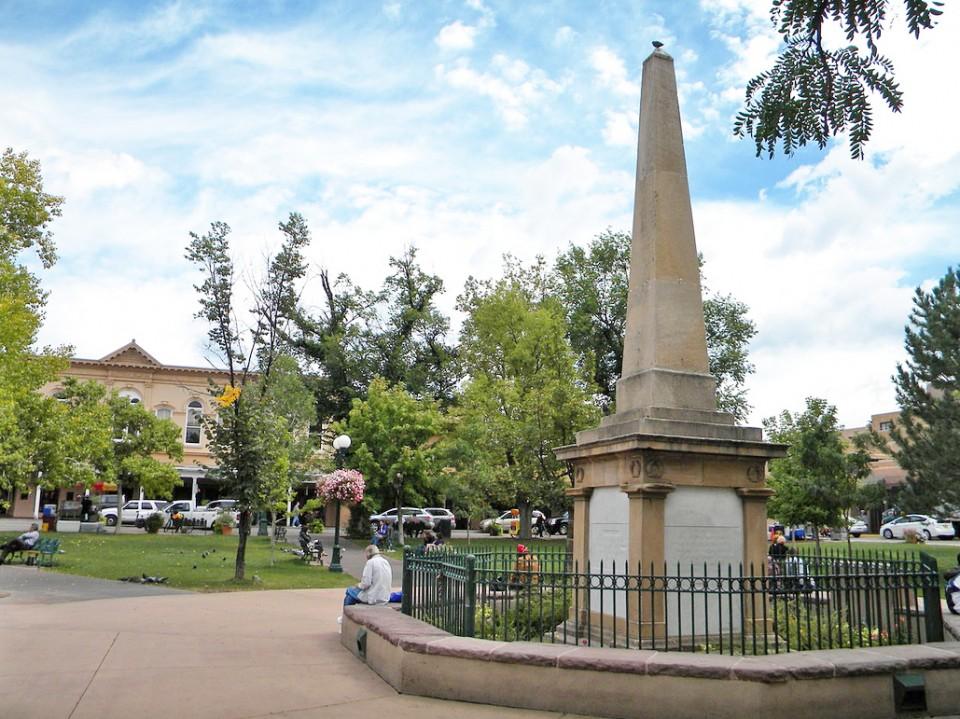 Leger Fernandez Calls For Community Dialogue Shared Respect After Protesters Dismantle Obelisk In Santa Fe
