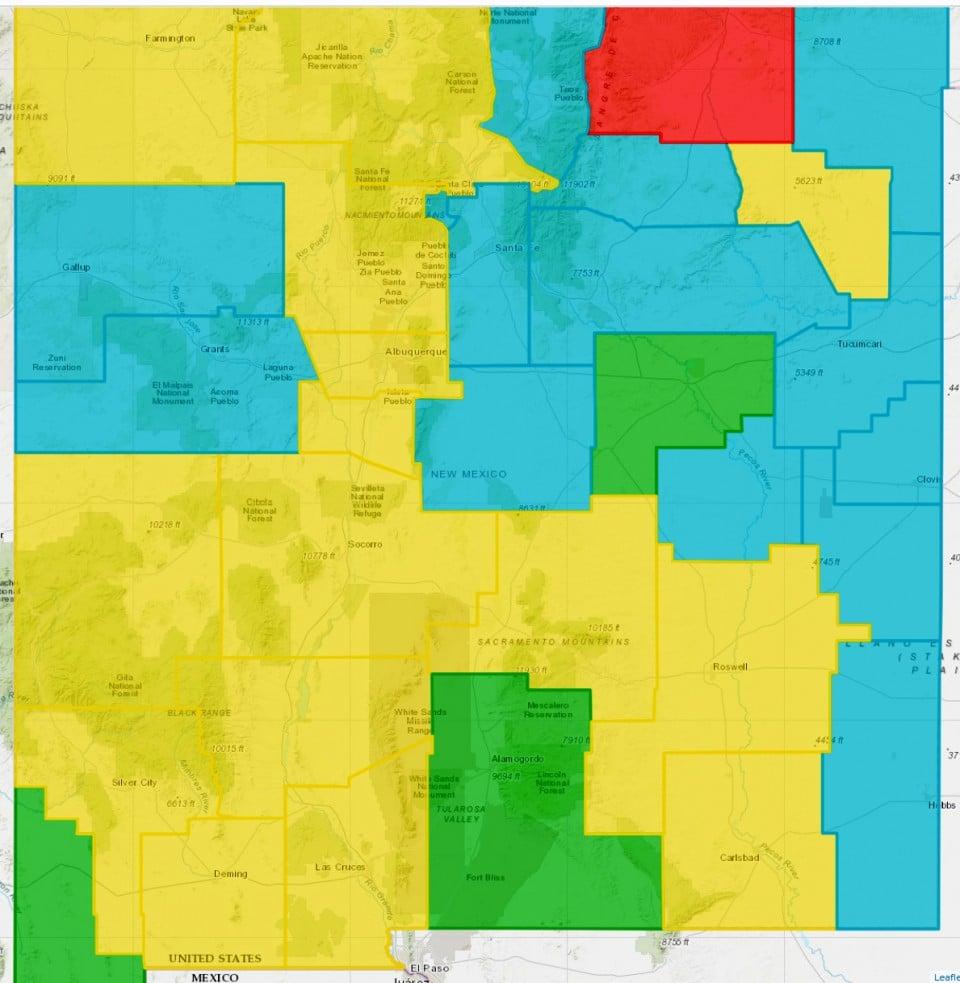 Majority Of Counties Static, Some Regress